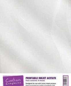 Acetato Stampabile Crafter's Companion A4 (8 pezzi)