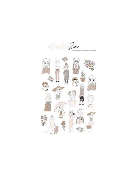 Adesivi Puffy - Adorable Zoe 2.0 Alúa Cid