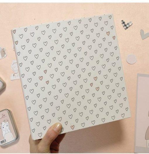 """Album ad anelli cuori 6x8"""" - Adorable Zoe 2.0 Alúa Cid"""