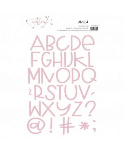 Alfabeto Austral Alúa Cid - Fustella (34 pezzi)