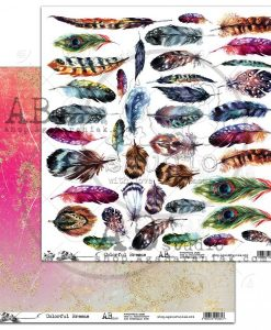 Colorful Breeze AB studio - foglio singolo 12x12