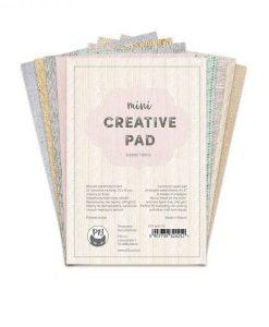 """Creative Pad Pastel Fabric - Blocchetto Cartoncino 6x4"""""""