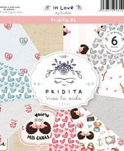 In Love Fridita - Blocchetto Cartoncino 12x12