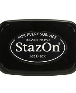 Jet black Staz-on - tampone d'inchiostro
