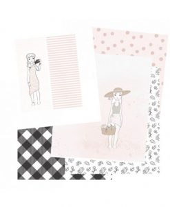 Kit di carte per creare diario/agenda/bullet journal (6 pezzi) - Adorable Zoe 2.0 Alúa Cid