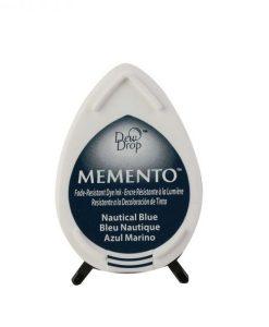 Memento Dew Drops Nautical blue - tampone d'inchiostro