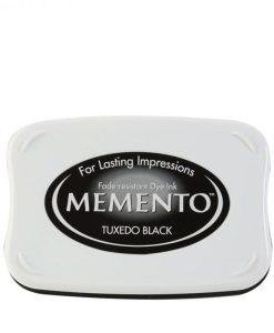 Memento Tuxedo Black - tampone d'inchiostro