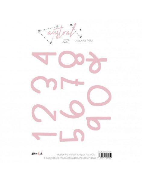 Numeri Austral Alúa Cid - Fustella (11 pezzi)