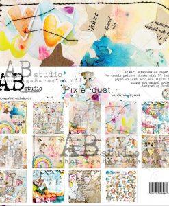 Pixie Dust TandiArt AB studio - Blocchetto Cartoncino 12x12 (7 fogli)