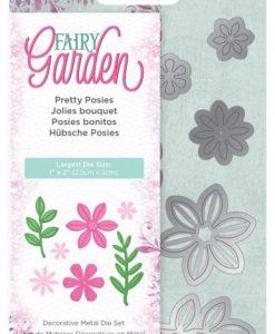 Pretty Posies Fairy Garden Crafter's Companion - Fustella (7 pezzi)