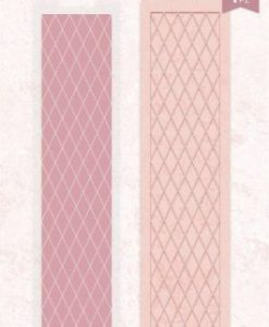 Rose Gold Diamond Lattice Crafter's Companion - Embossing Folder