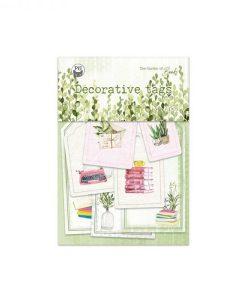 Tag rettangolari set The Garden of Books 03 - Tags (9 pezzi)