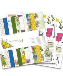 The Garden of Books - Blocchetto Cartoncino 12x12 (12 fogli)