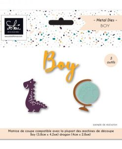 Boy SO'BB Sokai - Fustella (3 pezzi)