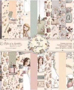 Collezione Niña Comunione Un día muy especial - Cartoncino 12x12 (12 pezzi)