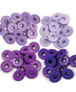 Occhielli Wide We R Memory Keepers - Purple (40 pezzi)