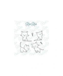 Timbro Kittys - Pequeño Panda