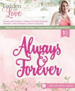 Always and Forever Garden of Love Crafter's Companion - Fustella