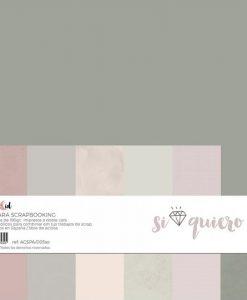 Basic Si Quiero - Blocchetto Cartoncino 12x12 (6 pezzi)