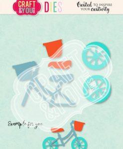Biciclettina Craft & You - Fustella (5 pezzi)