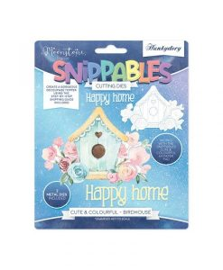 Birdhouse Snippables Set Hunkydory - Fustella e Timbro