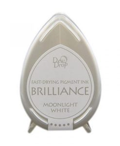 Brilliance Dew Drops Moonlight white - tampone d'inchiostro
