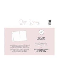 """Buste 2 tasche per Album Project Life 4x6"""" - Rita's Diary"""