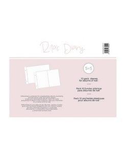 "Buste MIX per Album Project Life 4x6"" - Rita's Diary"