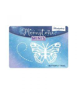 Butterfly Trail Moonstone Minis Hunkydory - Fustella (2 pezzi)