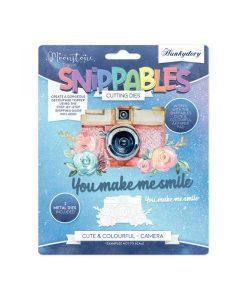 Camera Snippables Set Hunkydory - Fustella e Timbro