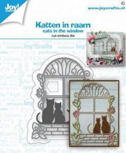 Cats in the window (Gatti alla finestra) Joy! Crafts - Fustella