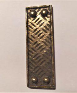 Corner side Straight Mitform - abbellimento in metallo (1 pezzo)