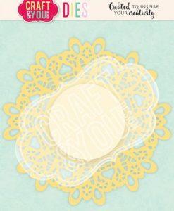 Doily 5 Centrino Craft & You - Fustella (2 pezzi)