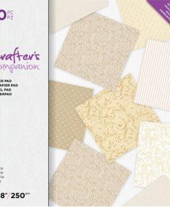 Elegance Crafter's Companion - Blocchetto Cartoncino 8x8 (50 pezzi)