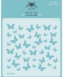 Farfalle Mariposas Fridita - Stencil Mascherine