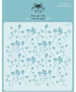 Fiori Flores Fridita - Stencil Mascherine