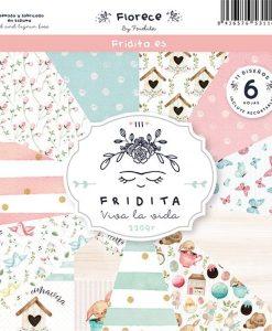 Florece Fridita - Blocchetto Cartoncino 12x12