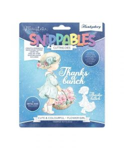 Flower Girl Snippables Set Hunkydory - Fustella e Timbro