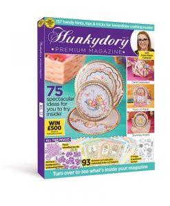 Kit Hunkydory Design Collection Box Issue 13 (rivista, embossing folder, fustella, cartoncini)