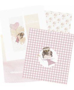 Kit di carte per creare diario/agenda/bullet journal (6 pezzi) - Ari Alúa Cid