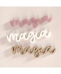 """Magia"" Ari Alúa Cid - Scritta in plexiglass (1 pezzo)"