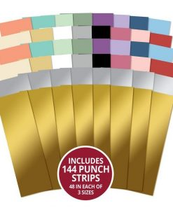 Moonstone Minis - Assorted Punch Strips Hunkydory (144 strisce)