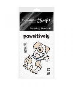 Pawsitively Wonderful Hunkydory - Mini Timbro