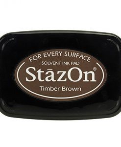 Timber brown Staz-on - tampone d'inchiostro