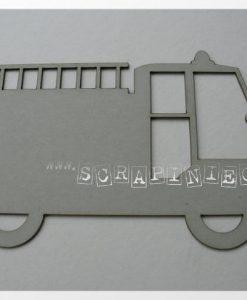 Camion dei pompieri Scrapiniec - Struttura per album (4 pezzi)