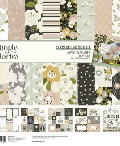 Collection Kit Happily Ever After - Blocchetto cartoncino 12x12