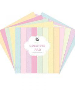 Maxi Creative Pad Summer Vibes P13- Blocchetto Cartoncino 12x12 (12 fogli)