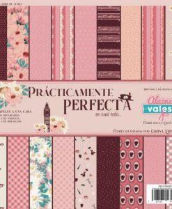 Prácticamente Perfecta Alazne Vales - Blocchetto Cartoncino 12x12 (22 fogli) 3