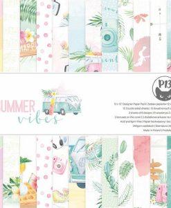 Summer vibes P13 - Blocchetto Cartoncino 12x12 (12 fogli)