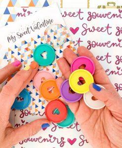Disc planner Piccolina Brava Culo Inquieto My Sweet Valentine (11 pezzi)